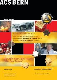 Dezember 2007 - ACS Automobil-Club der Schweiz