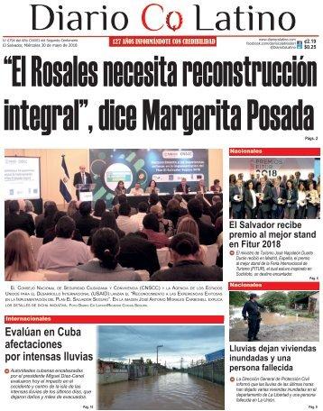 Edición 30 de Mayo de 2018