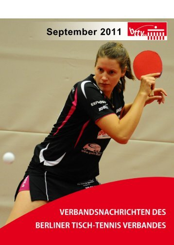 September 2011 - Berliner Tisch-Tennis Verband