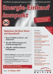 Schriftlicher Lehrgang: Energie-Einkauf kompakt ... - BET Aachen