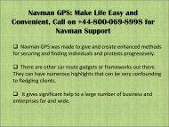 Navman GPS Map Updates dial +44-800-069-8998