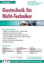 ETP-Seminar - BET Aachen