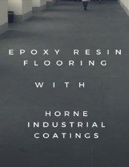 Benefits of Epoxy Resin Flooring in Melbourne - Horne Industrial Coatings