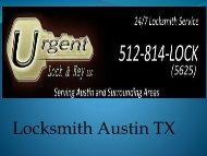 Locksmith Austin TX