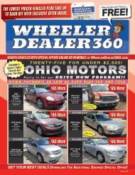 Wheeler Dealer 360 Issue 22, 2018
