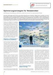 Optimierungsstrategien für Netzbetreiber - BET Aachen