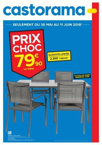 Castorama catalogue 30 mai-11 juin 2018