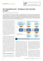 Der Kapazitätsmarkt – Schlagwort oder Zukunfts ... - BET Aachen