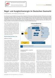 Regel- und Ausgleichsenergie im Deutschen Gasmarkt - BET Aachen