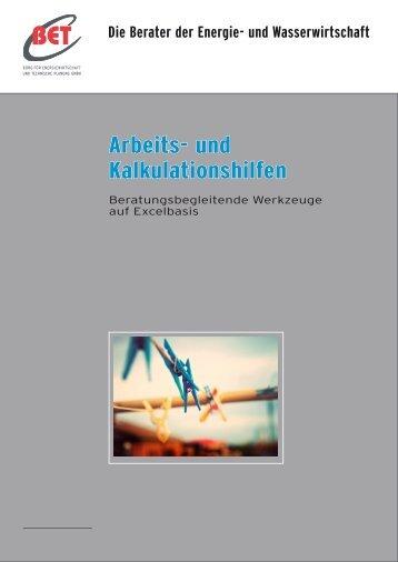 Arbeits- und Kalkulationshilfen - BET Aachen