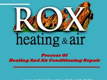 Process Of Heating And Air Conditioning Repair
