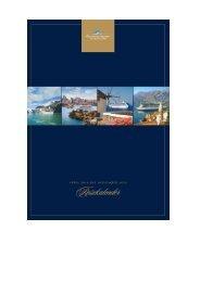 KW22_2018_Oceania Cruises Reisekalender 2018 2019