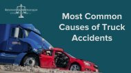 Most Common Causes of Truck Accidents