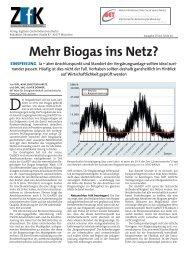 Biogas ins Netz? - BET Aachen