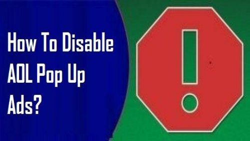 How to Disable AOL Pop Up Ads? 1-800-488-5392