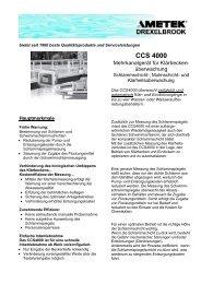 CCS 4000 - Bernt GmbH