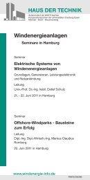 Windenergieanlagen - BET Aachen