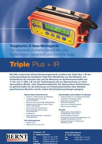 Triple Plus + IR - Bernt GmbH