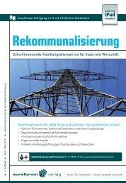 Rekommunalisierung lisierung - BET Aachen