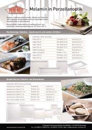 das Melamin Prospekt als pdf herunterladen - Primeware Ceramics ...