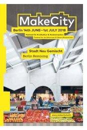 Make City 2018 Festival - Newspaper