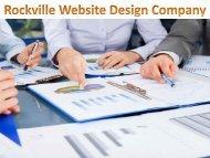 Rockville Website Design Company