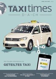 Taxi Times - April 2018