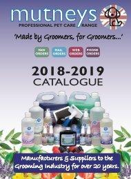 Mutneys 2018-2019 Catalogue