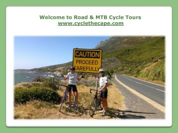Mountain Bike Tours in Cape Town