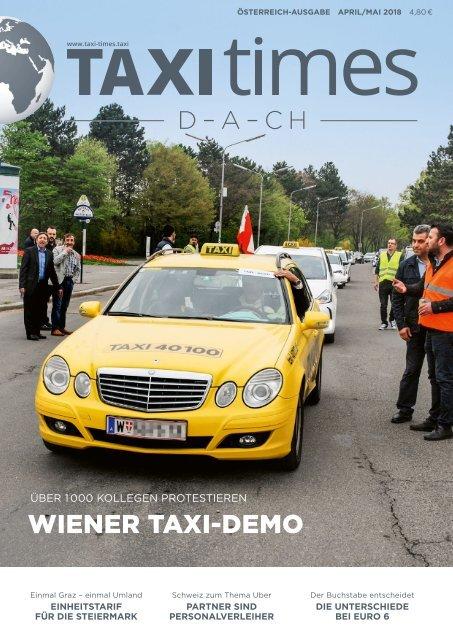 Taxi Times DACH Österreich - April 2018