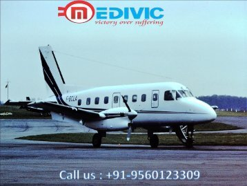Need an Emergency Air Ambulance Services in Dimapur
