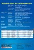 Monitore In-situ LaserGas - Bernt GmbH - Seite 6