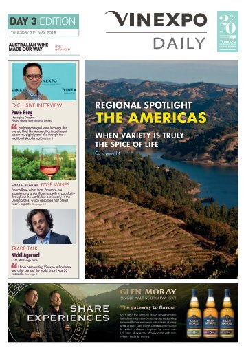 Vinexpo Daily 2018 - Day 3 Edition