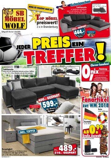 SB-Möbel Wolf: Jeder Preis ein Treffer!