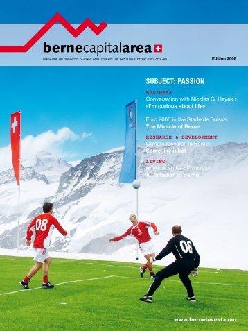 SUBJECT: PASSION - Bern