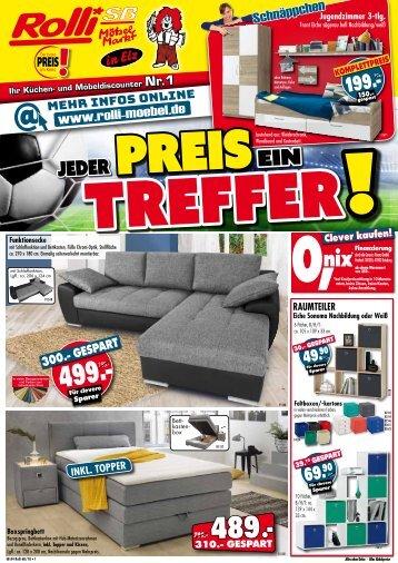 Jeder Prei ein Treffer: Rolli SB-Möbelmarkt, 65604 Elz/Limburg