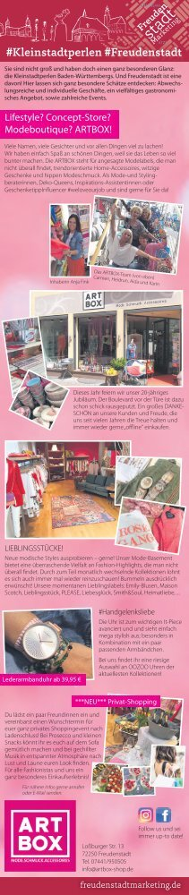 # Kleinstadtperlen # Freudenstadt