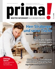 prima! Magazin – Ausgabe Juni 2018