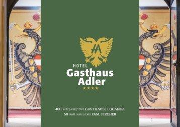 Hotel Adler Brochure