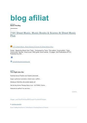 blog afiliat