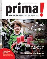 prima! Magazin – Ausgabe Dezember 2017
