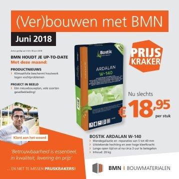 BMN krant - (ver)bouwen met bmn > doen we. Editie juni 2018