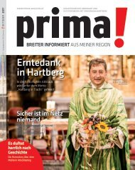 prima! Magazin – Ausgabe Oktober 2017