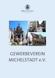 Mitglieder Gewerbeverein Michelstadt 2012