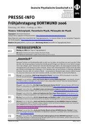 Kompakte Programmübersicht der Dortmunder Tagung (PDF)