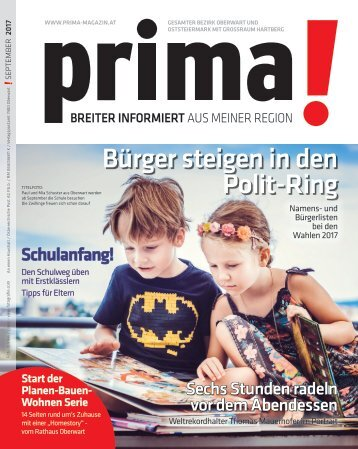 prima! Magazin – Ausgabe September 2017