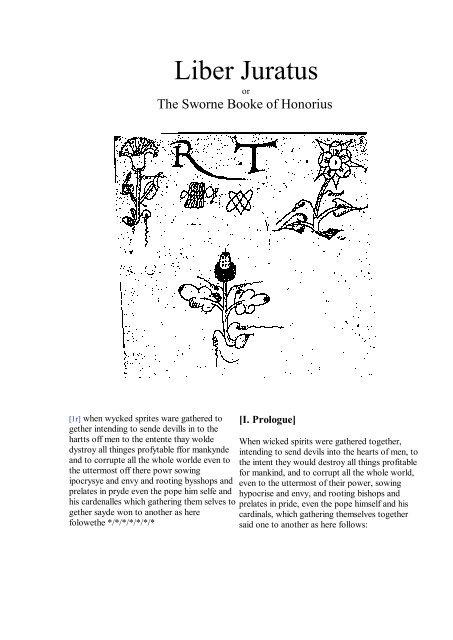 354529411-The-Sworne-Booke-of-Honorius-Liber-Juratus-pdf