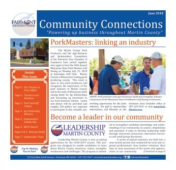 Chamber Newsletter - June 2018
