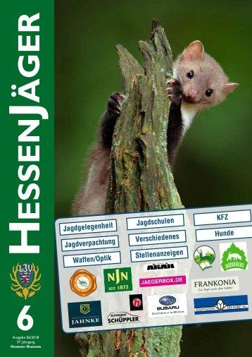 HessenJäger 06/2018 Kleinanzeigen