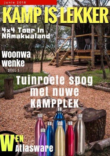 Kamp is Lekker Junie 2018 Tydskrif